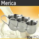 Acero inoxidable &#160 de tres tallas; Leche del arte de Latte que espumejea la jarra