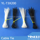Auto Locking Nylon Cable Tie in Size 3X200mm