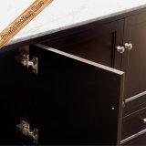 Voeden-1569 Kabinetten van de Badkamers van de Gootstenen Cupc van 72 Duim Elegante Dubbele Marmeren Hoogste Moderne
