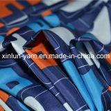 Le logo de dessin animé a personnalisé le tissu estampé pour le tablier/circuits de cuisine