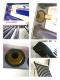 Calefator de água quente solar Anti-Freeze de Heatpipe da câmara de ar de vácuo