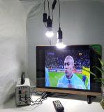 LEIDENE van de zonneMacht gelijkstroom TV van de Kleur met Lichten voor Afrika