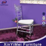 Cristal elegante por atacado - cadeira desobstruída do casamento de Chiavari