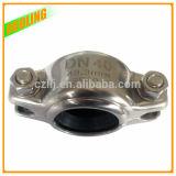 Acoplamento da carcaça do conetor do tubo da braçadeira do encaixe de tubulação 304 do aço inoxidável 316