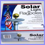 come Seen su 20 26 LED Solar Light per i Flagpoles