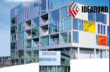 Цены строительных материалов алюминия PVDF сбывание самого последнего горячее в компаниях Ideabond Comstruction от поставщика Китая