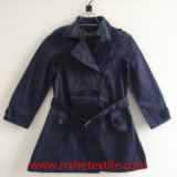 Woven casuale Trench Coat/Overcoat /Jacket per Women
