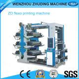 Tissu non tissé de 6 couleurs/machine d'impression flexographique sac de papier d'emballage (relais)