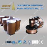 0.8mmの15kg構築の溶接(AWS ER70S-6/SG2)のための銅の上塗を施してある二酸化炭素の溶接ワイヤ
