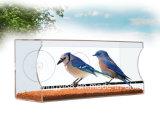 卸し売り大きく及び明確なWindowsの鳥の送り装置-鳥の恋人のための…! 性質に近い方に得るべき美しいギフト
