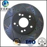 L'OEM a exhalé le rotor de frein à disque adapté pour Landrover