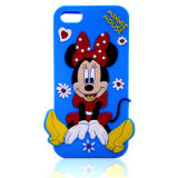 Милое iPhone /Samsung/Sony/Alcatel аргументы за телефона шаржа силикона Минни Mickey (XSD-057)
