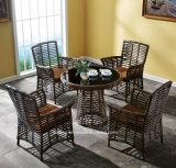 Giardino di vimini della mobilia di prezzi della mobilia esterna superiore più poco costosa del giardino impostato (YT806)
