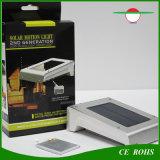 Nachladbare 16LED angeschaltene an der Wand befestigter Fühler-Solargarten-Solarlampe im FreienIP65 des Licht-PIR mit austauschbarer Batterie