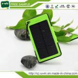 Impermeable al aire libre banco móvil solar la energía del cargador 8000mAh