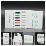 Haus oder Unternehmen verwendeter multi Droge-Prüfungs-Kassetten-Installationssatz (CE&ISO13485)