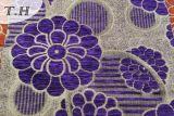 Ткань софы жаккарда супер популярного синеля 2016 большая
