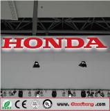 Emblema Backlit diodo emissor de luz do logotipo do carro 3D para Honda