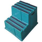 Табуретка шага 2 шагов пластичная с 500lb. Емкость нагрузки (44ZJ61)