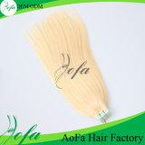 Extensões humanas não processadas do cabelo da fita do Virgin do preço de grosso