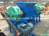 Double défibreur 2016 d'interpréteur de commandes interactif de véhicule de pneu d'arbre de Huahong réutilisant la machine
