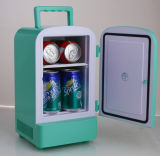 Mini réfrigérateur portatif 4liter DC12V, AC100-240V avec le refroidissement et le chauffage pour l'usage de véhicule, de bureau ou de maison
