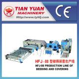Fundamento do Quilt que cobre a linha de produção não tecida da maquinaria (HFJ-88)