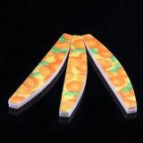OEM 유효한 형식 굉장한 빛 손톱용 줄칼, 관례는 처분할 수 있는 손톱용 줄칼 손톱줄 파일을 인쇄했다
