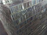 4 ' panneaux en aluminium de nid d'abeilles de x8 pour la décoration interne et externe