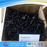 Parafuso de batida preto da placa do parafuso/gipsita da perfuração do parafuso/auto do Drywall/parafuso de furo 25*3.5mm