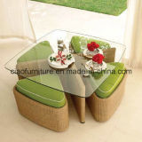 High Loading QuantityのためのH-BeautifulおよびCutety Rattan Chair