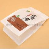 Les graines exquises/sac d'empaquetage en plastique de riz avec le bas de quarte