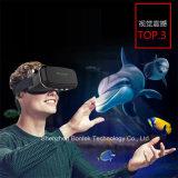 Caja video de los vidrios de la cartulina 3D Eyewear de Vr Google para el iPhone y Samsung