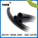 Yute 5/8 pulgadas Negro NBR Manguera de combustible SAE J30 R6