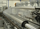 überzogene beste Preis-Qualität des 75*75mm Belüftung-überzogene Kettenlink-Zaun-Galvanized/PVC