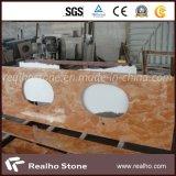 浴室の虚栄心の上のためのDianoローザの大理石