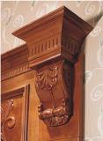 Mobília da cozinha da madeira contínua da pedra de quartzo da alta qualidade (kc-4170)
