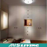 現代新しいデザイン白いカラー純木のワードローブの戸棚(AIS-W159)
