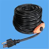 에너지 절약 보온장치를 가진 220V 수관 난방 케이블