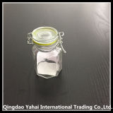 Clip Lidの120ml Glass Storage Jar
