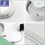 luz del panel montada superficial del techo LED de 6W 12W 24W