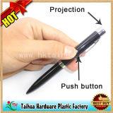 펜 (TH08041)의 광고가 승진 단추 플라스틱 펜에 의하여, 자전한다