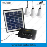 Sistema di illuminazione solare di uso domestico portatile di 4 watt per il Giappone