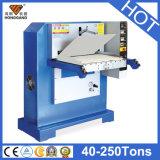 Machine gravante en refief de la chaleur en cuir hydraulique (HG-E120T)