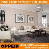 Конструкции свободно дома Oppein мебель комнаты самомоднейшей живущий для виллы (OP15-LR02)