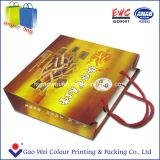 Bolso de empaquetado impreso aduana de la bolsa de papel de arte del regalo