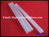 Surtidor translúcido de la tubería del vidrio de cuarzo de la silicona de la pureza elevada