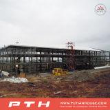 Neues konzipiertes helles vorfabriziertgebäude der Stahlkonstruktion-2015