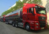 SINOTRUK SITRUK 540HP DE SEMI AANHANGWAGEN VAN DE TANK VAN DE BRANDSTOF VAN DE TRACTOR 51000L