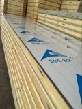 Покрасьте Coated панель стены толщиной 100mm пены полиуретана для холодной комнаты